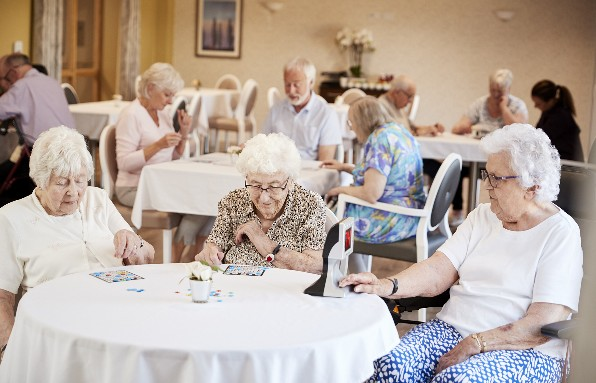 Anigmo touchless switch in retirement homes